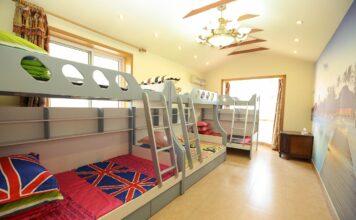 Piętrowe łóżko do pokoju